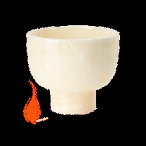 Marble Onyx Tea Light Candle Holder image