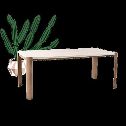 Moda Terrazzo Dining Table image