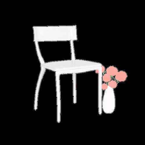 Midas White Dining Chair image