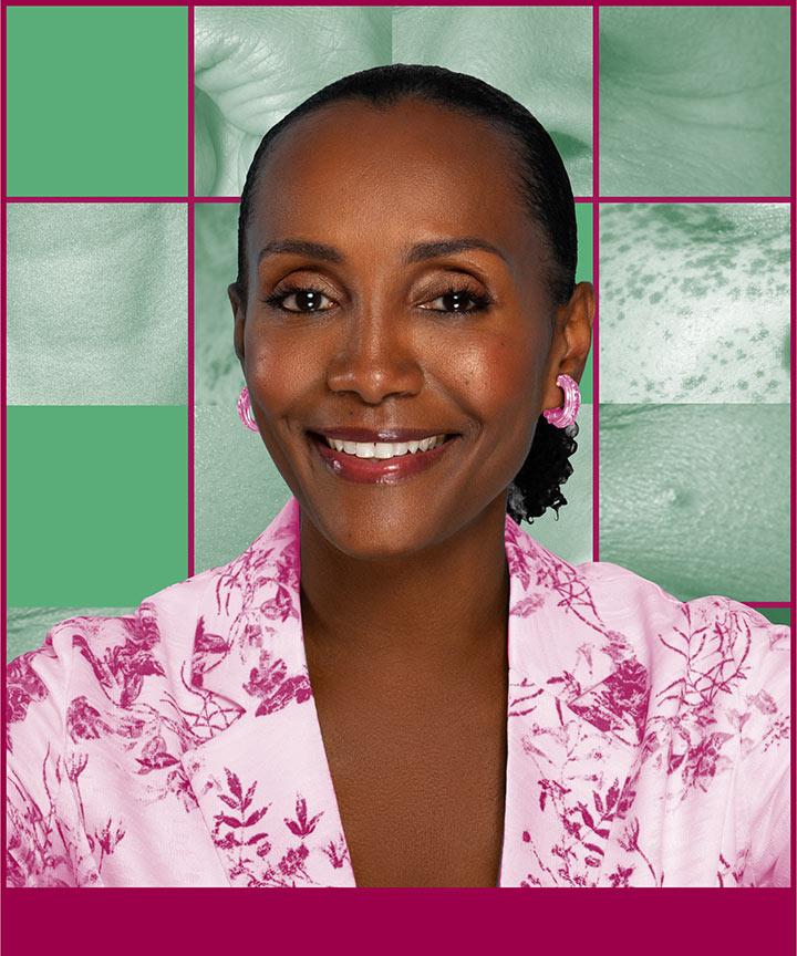 An image of Katonya Breaux, founder of Unsun Cosmetics