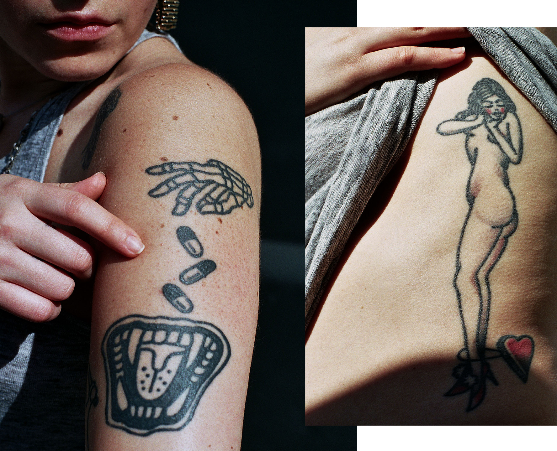 Tattoo Meaning Young Women Trend Body Image Photos