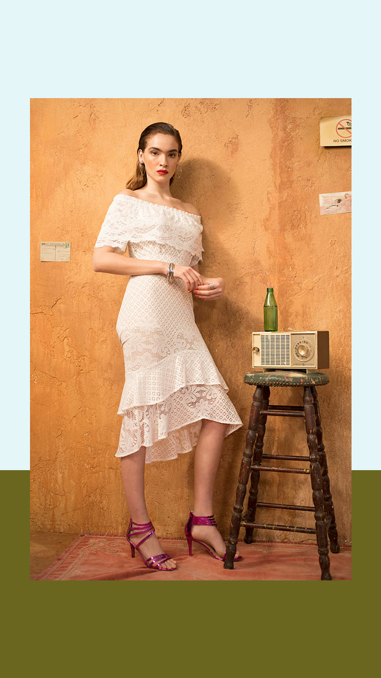 c601ac2b21 While this white wonder could pass for a romantic dress