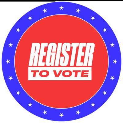 Button: Register To Vote