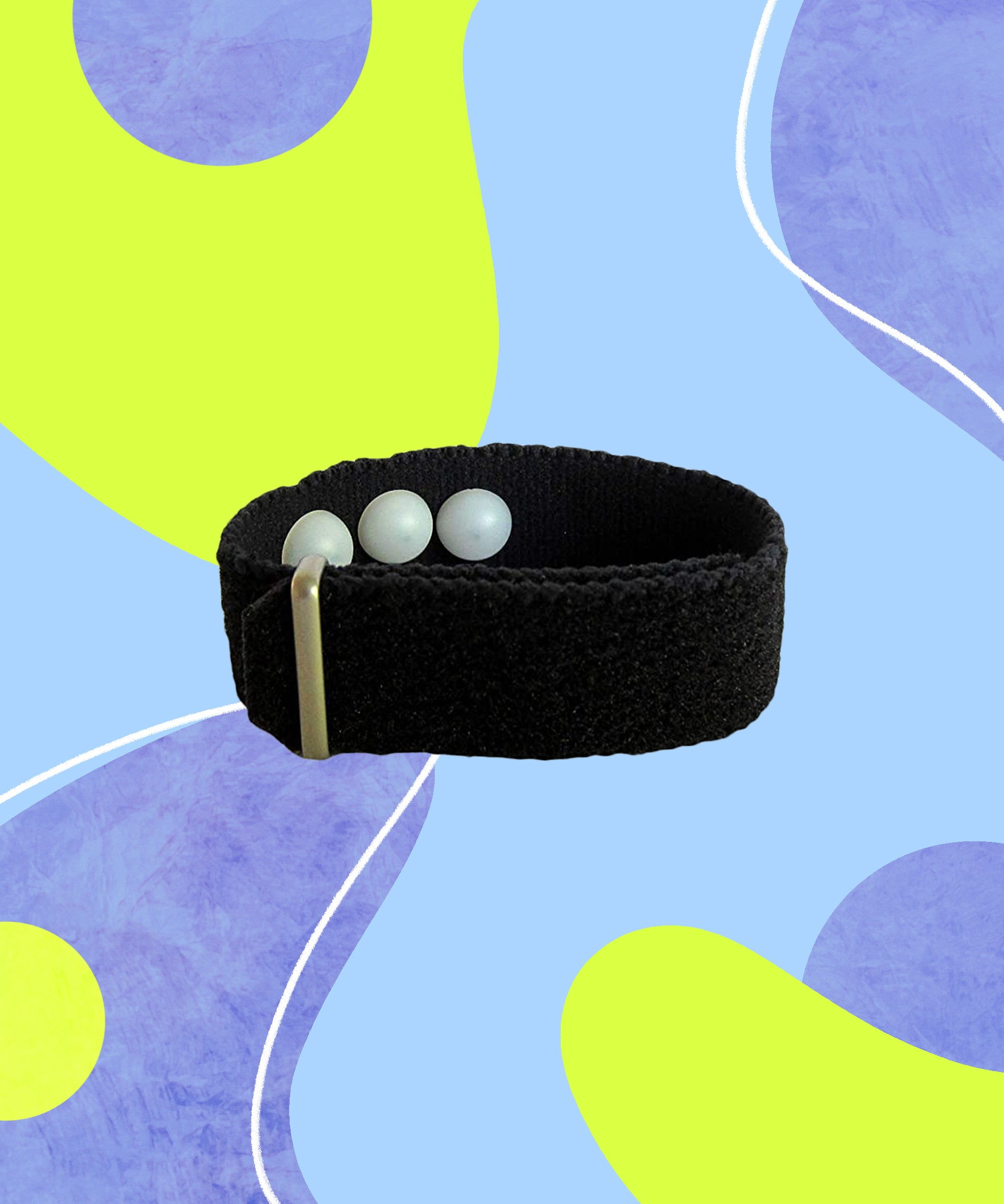 Fabric Anxiety/'s Passes Adjustable Mental Health Wristband bracelet