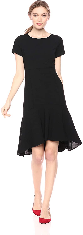 Avec Les Filles Dresses High Low Dress
