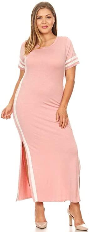 Sweetkie Striped Maxi Dress