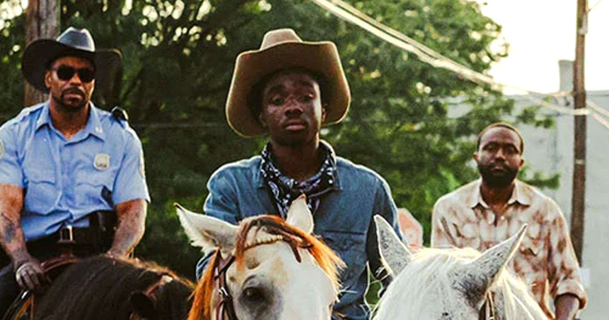 Stranger Things' Caleb McLaughlin Is All Grown Up In This Gritty New Western