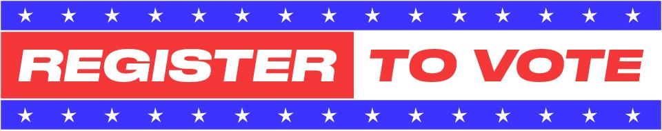 Banner: Register To Vote