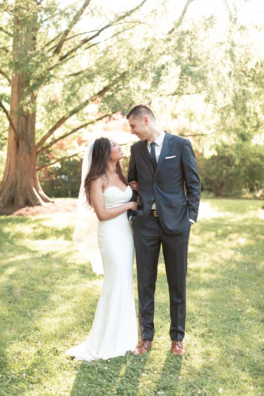 Micro Wedding Dresses Brides Wore For Their Minimony
