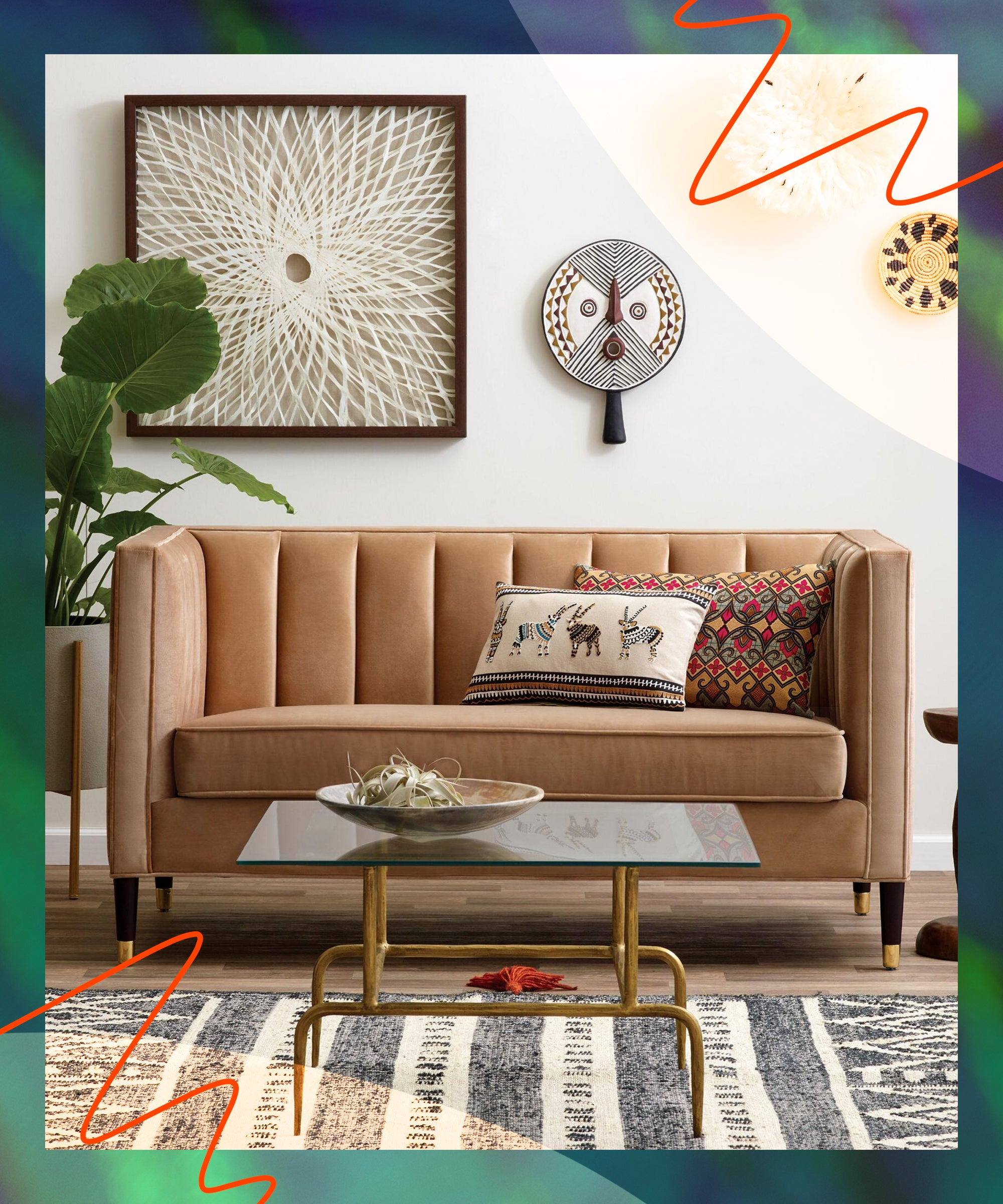 Image of: Best Small Loveseats For Affordable Space Saving Sofa