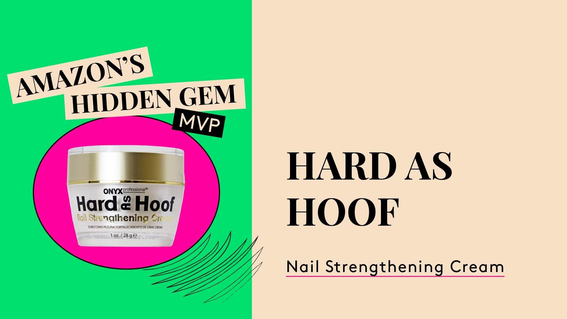 Manicure MVP. Onyx Hard as Hoof nail creme. An Amazon Hidden Gem.