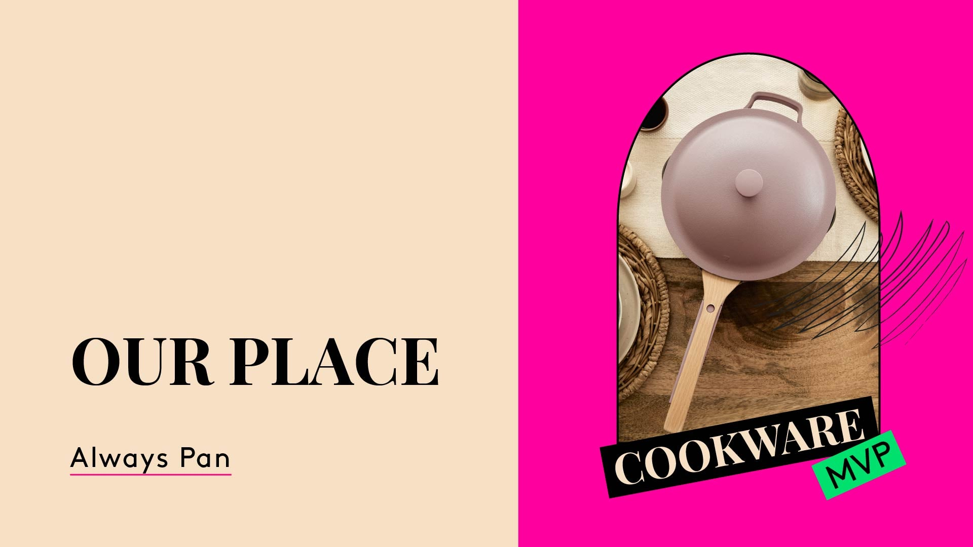 Cookware MVP. This is a photo of Our Place Always Pan.