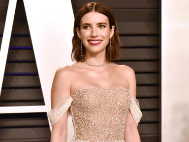 Emma Roberts Baby Shower Dress Is On Sale At Tory Burch