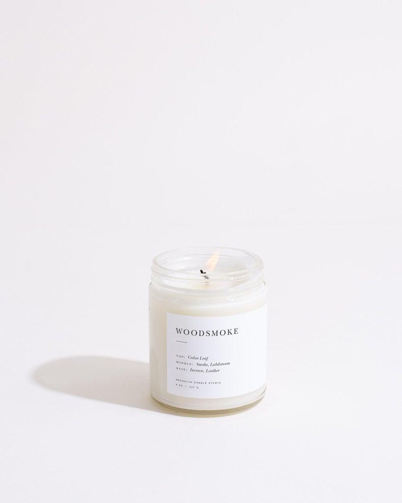 Woodsmoke Minimalist Candle