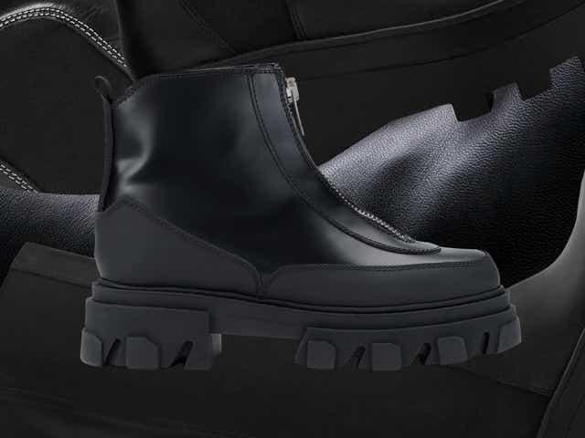 Black boots autumn 2020