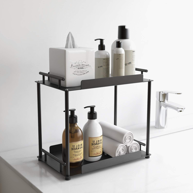 Fle Bathroom Organizer Countertop Shelf