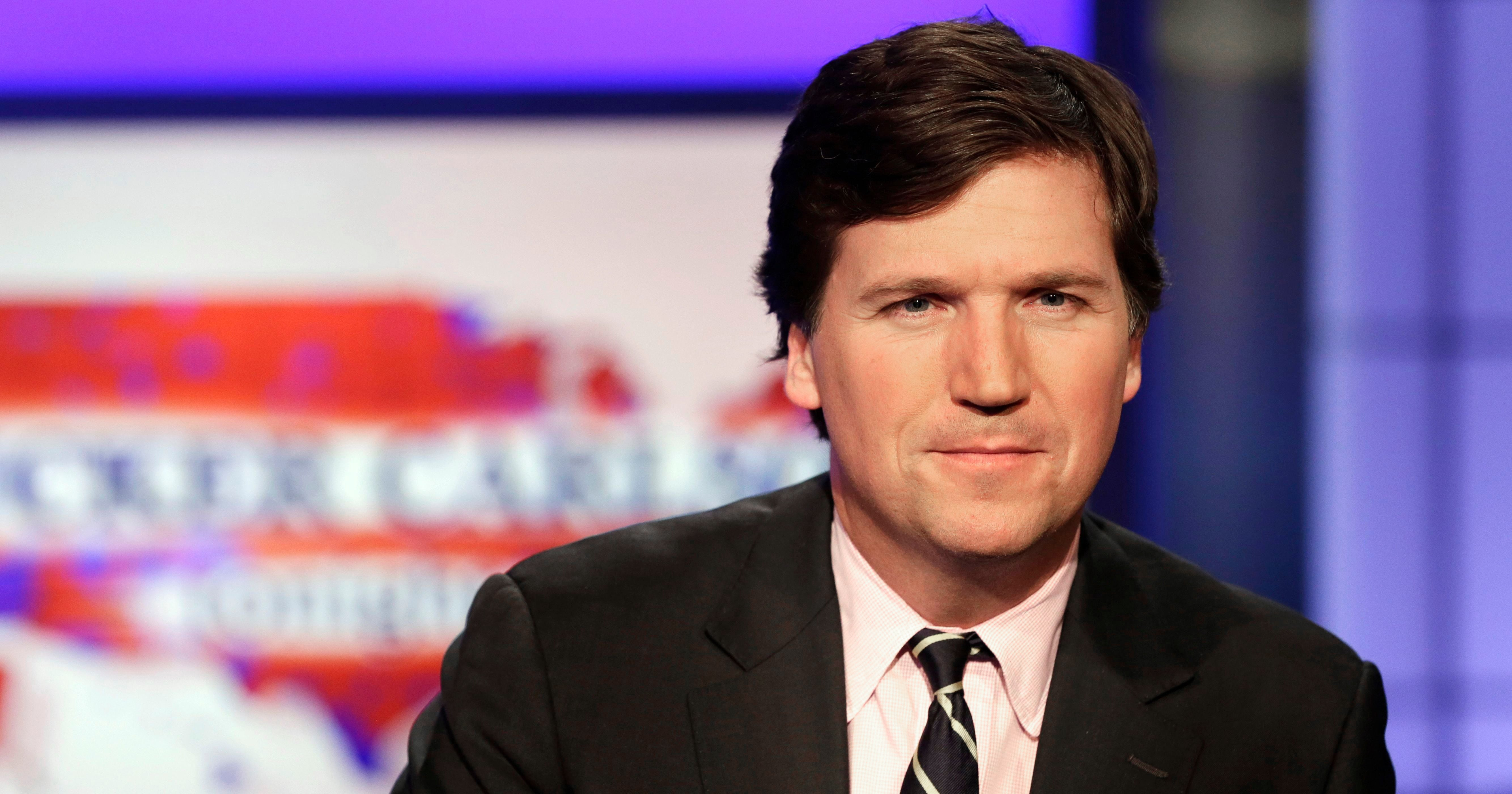 """Hmm, Interesting How Tucker Carlson Lost His Only Copy Of """"Evidence"""" Against Joe Biden"""