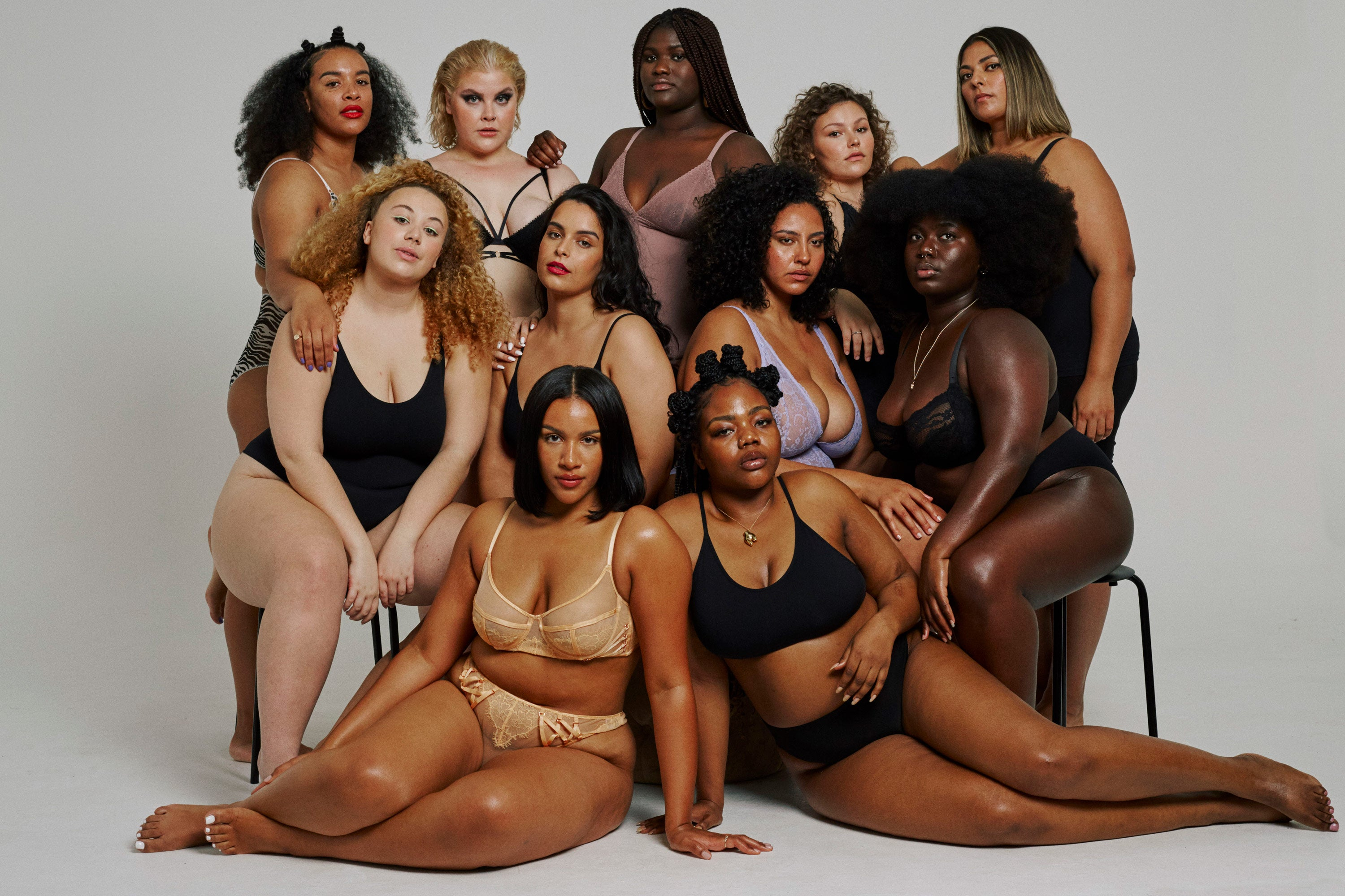 Brother Models Curve Board Celebrates Plus-Size Beauty