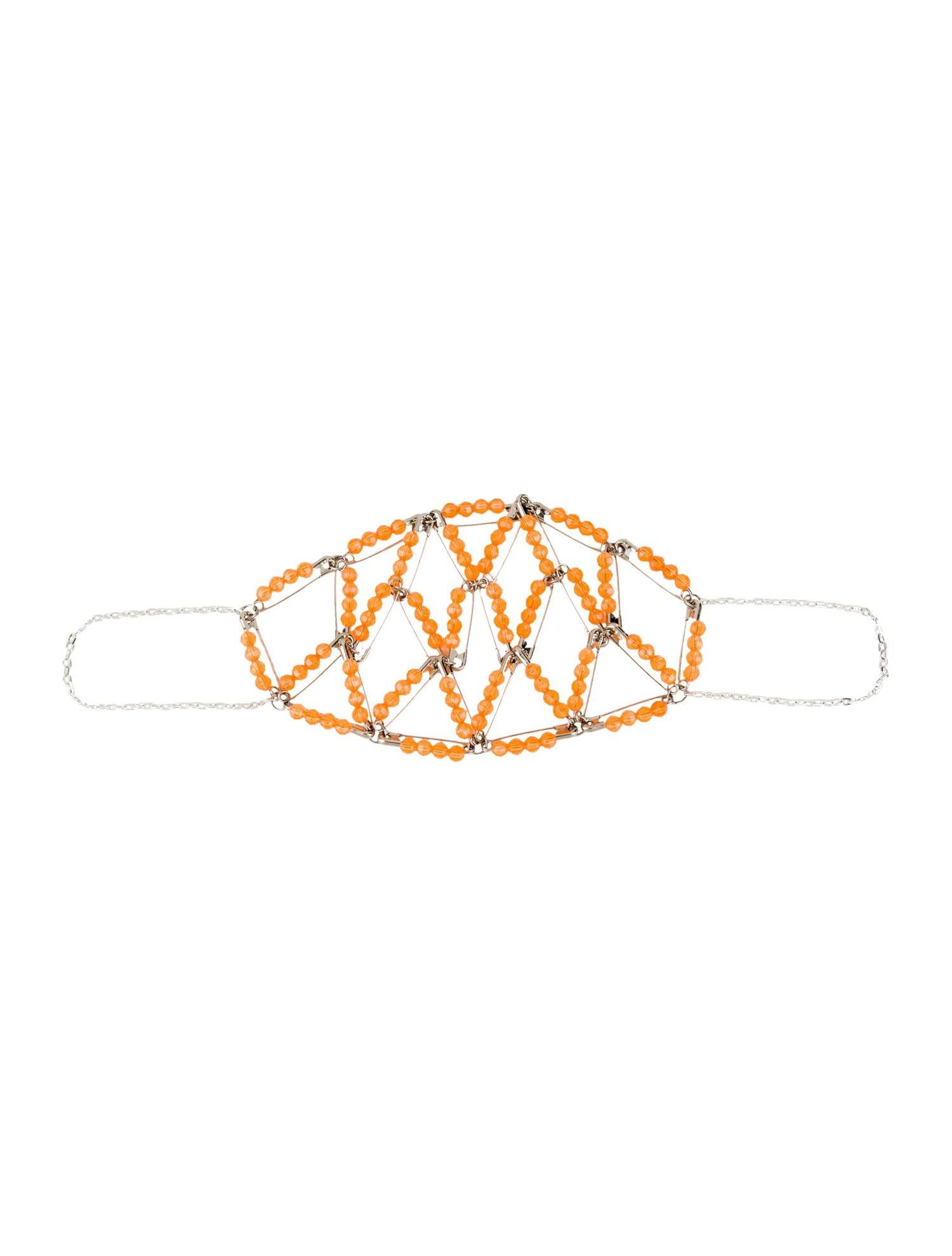 Tangerine Decorative Mask
