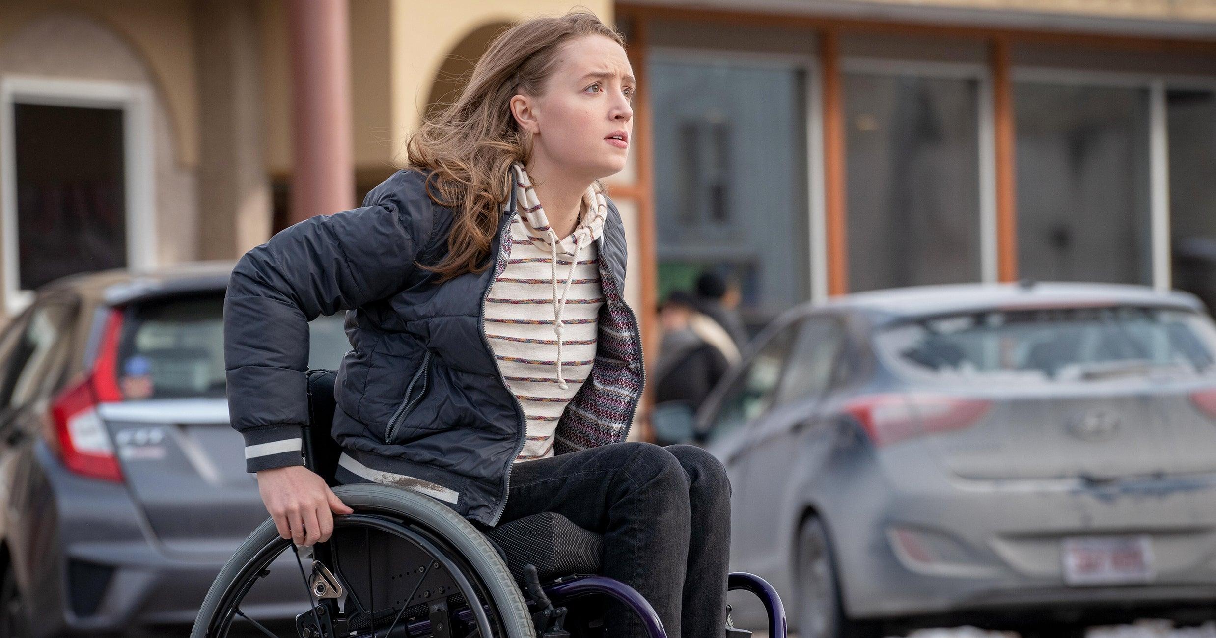 Kiera Allen Is First Wheelchair User Action Star In Run