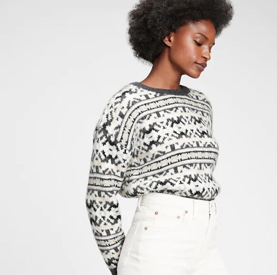 Fair Aisle Crewneck Sweater