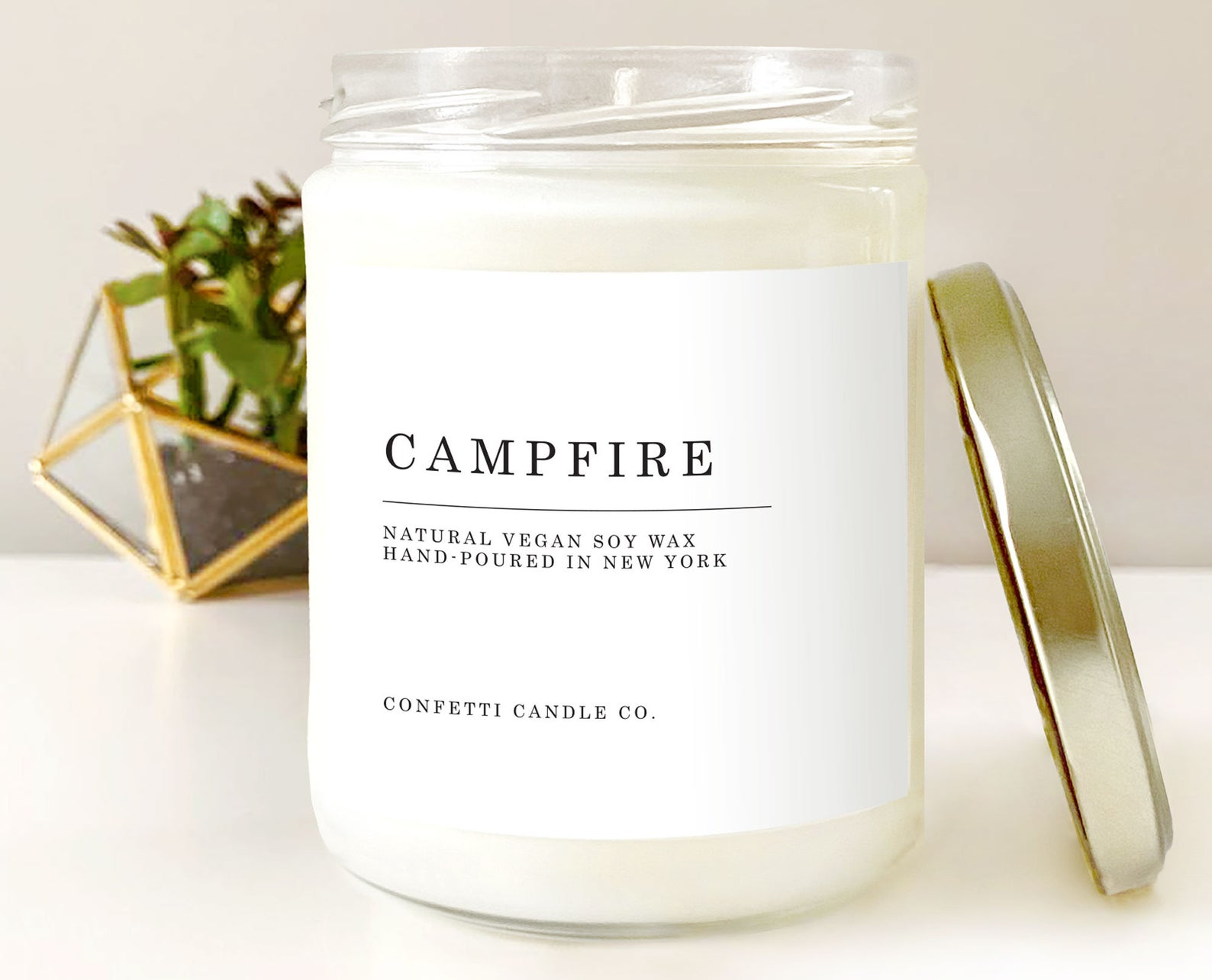 Campfire Vegan Candle Soy