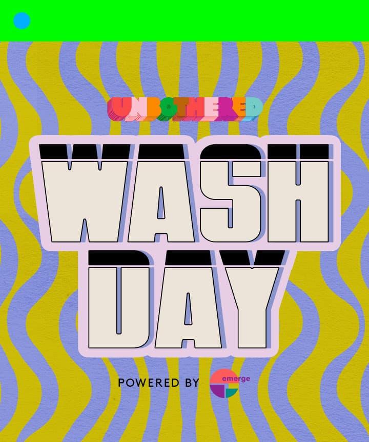 Image of Unbothered Wash Day Logo