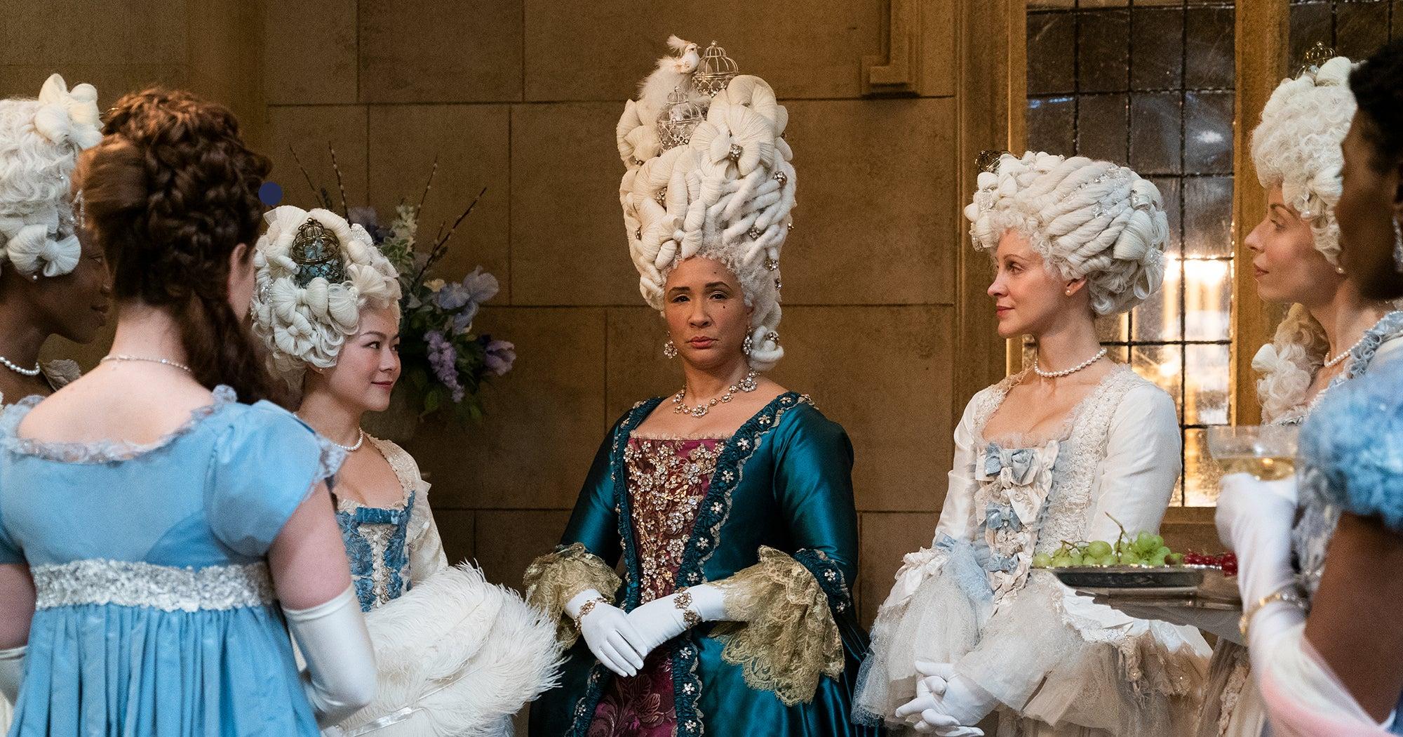 www.refinery29.com: Bridgerton Inspires 2021 Regencycore Fashion Trend