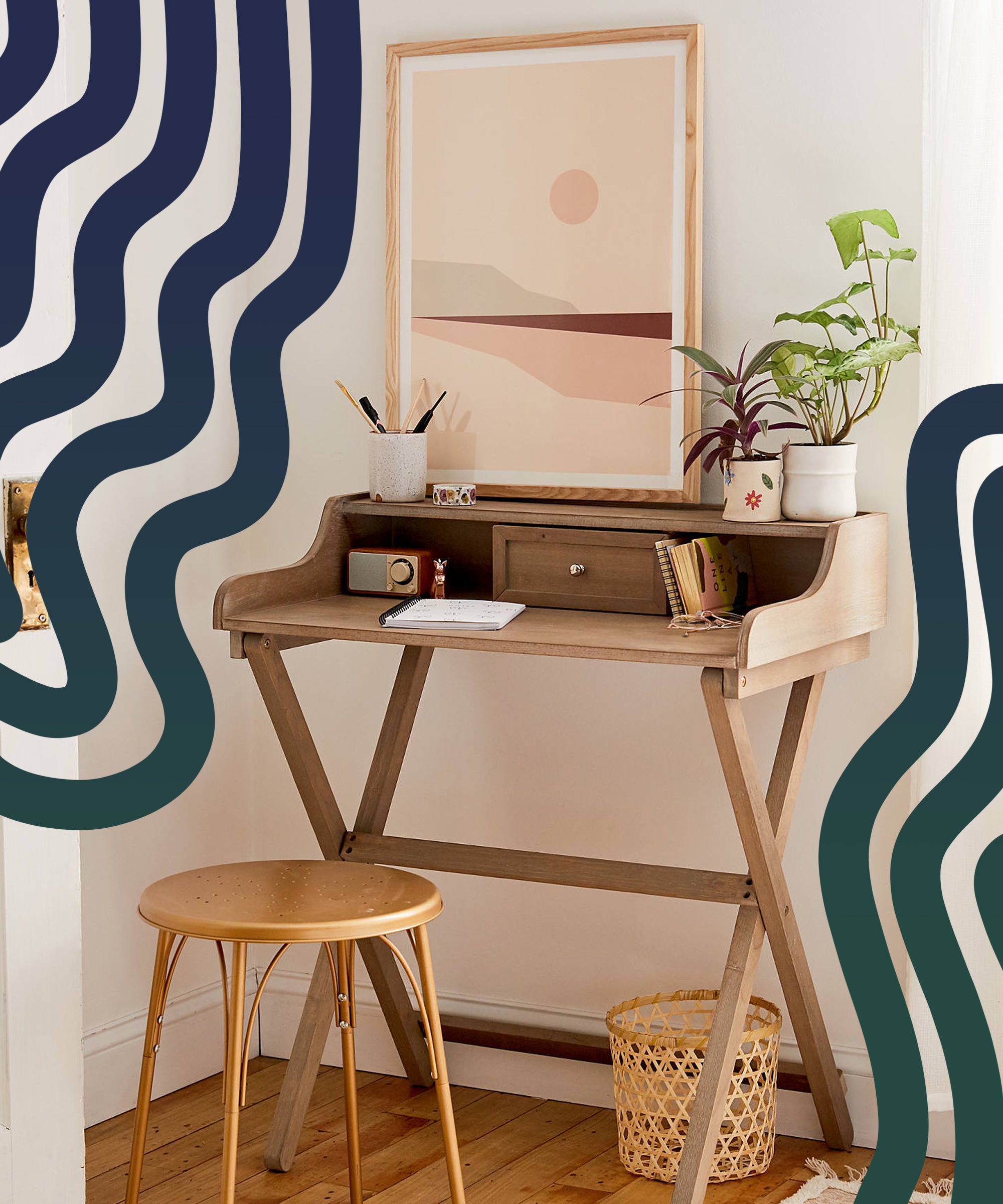 Best Desks For Small Living Spaces Homes 2021