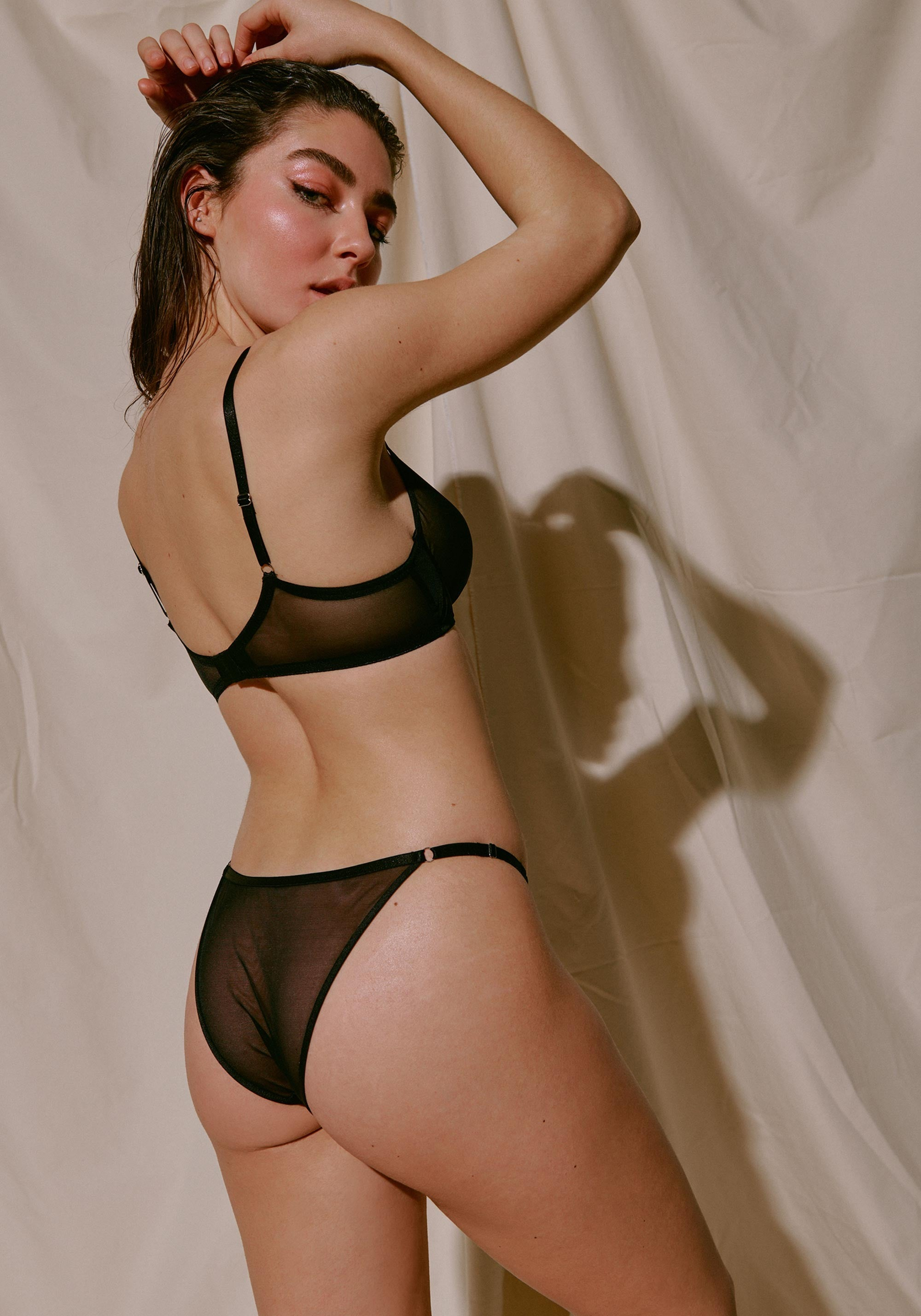 Blush lingerie see through See Through Bras Lingerie Lace Mesh Intimates