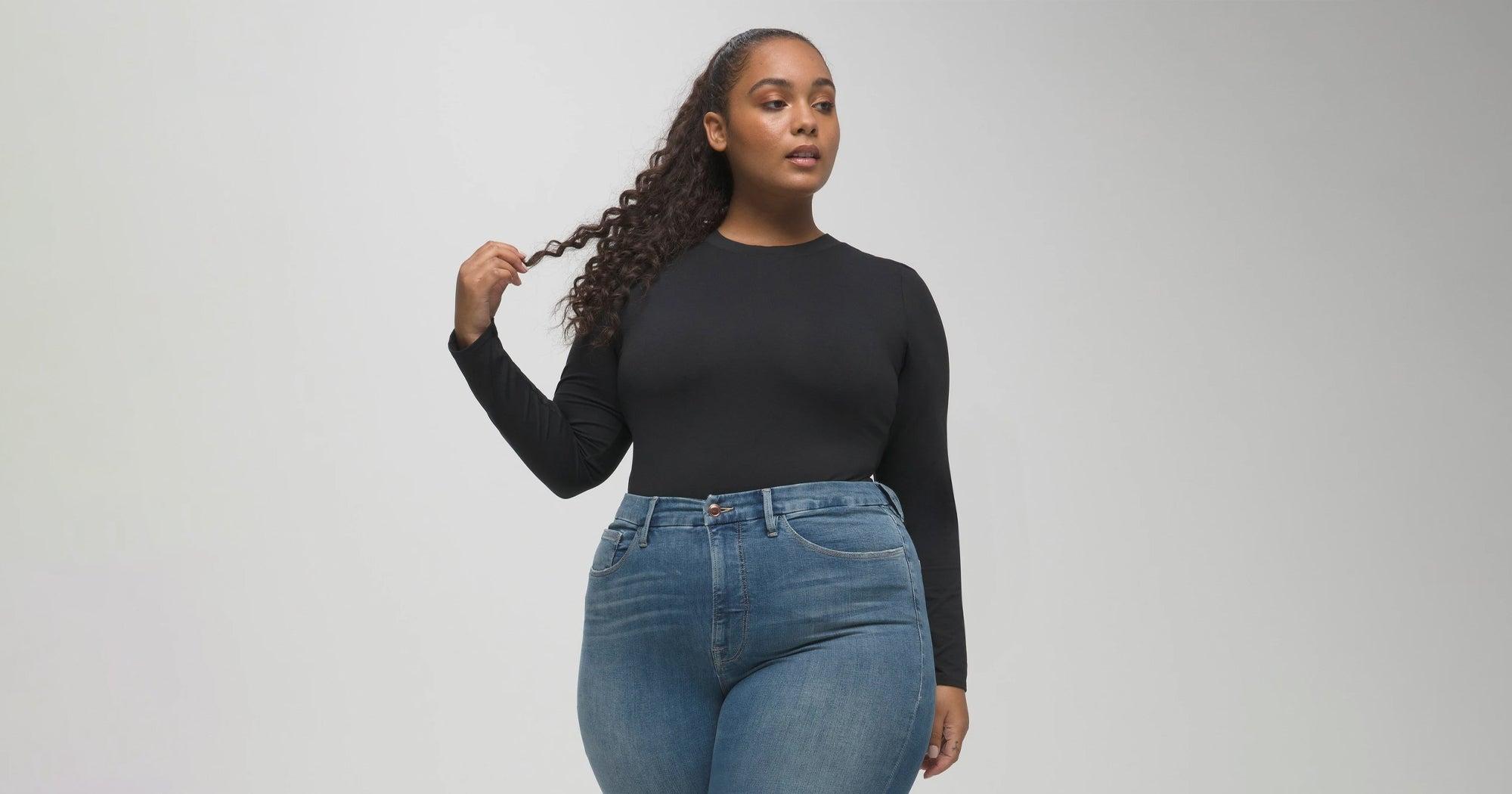 Warum der Jeanskauf für dicke Frauen ein Albtraum ist
