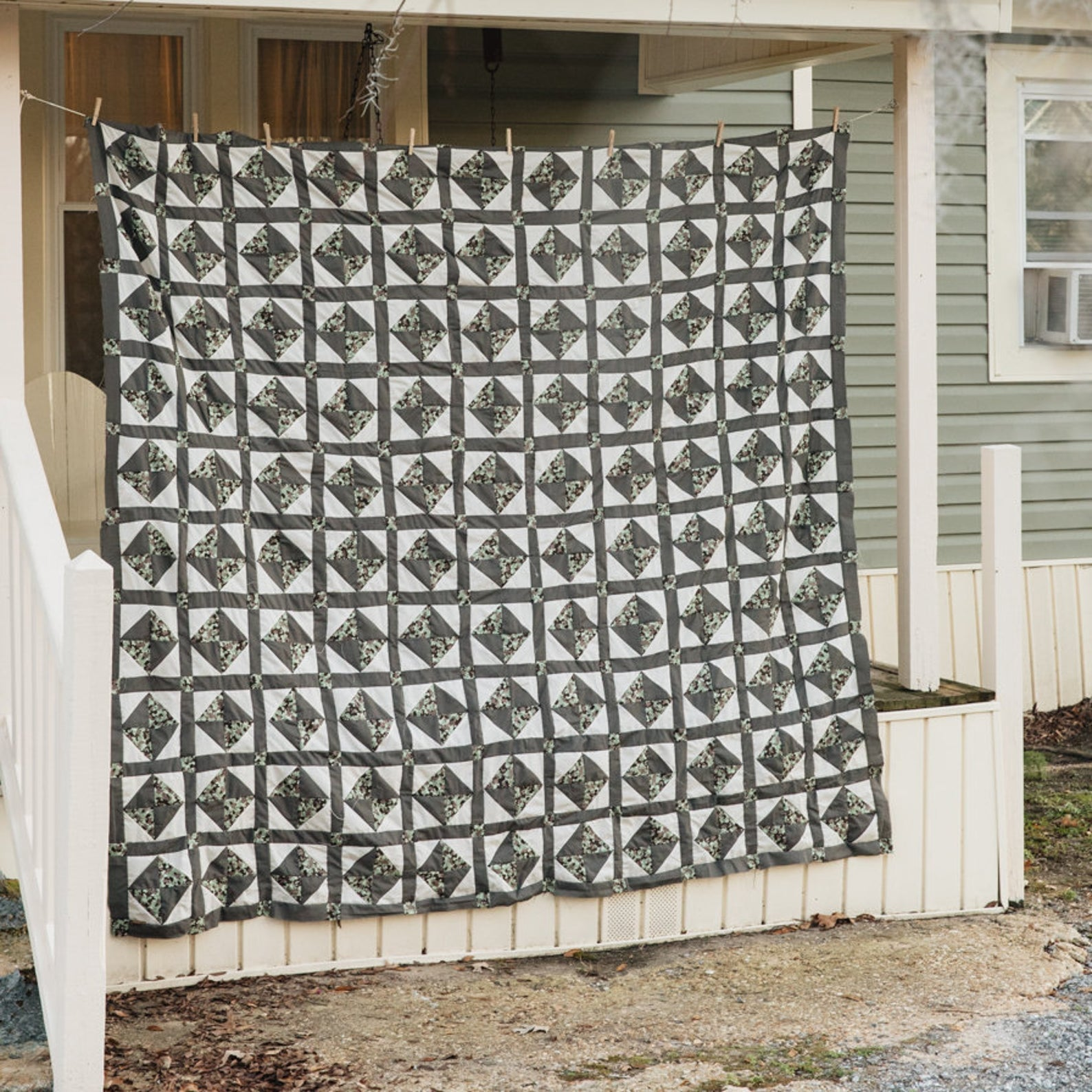 Traditional Gee's Bend Quilt