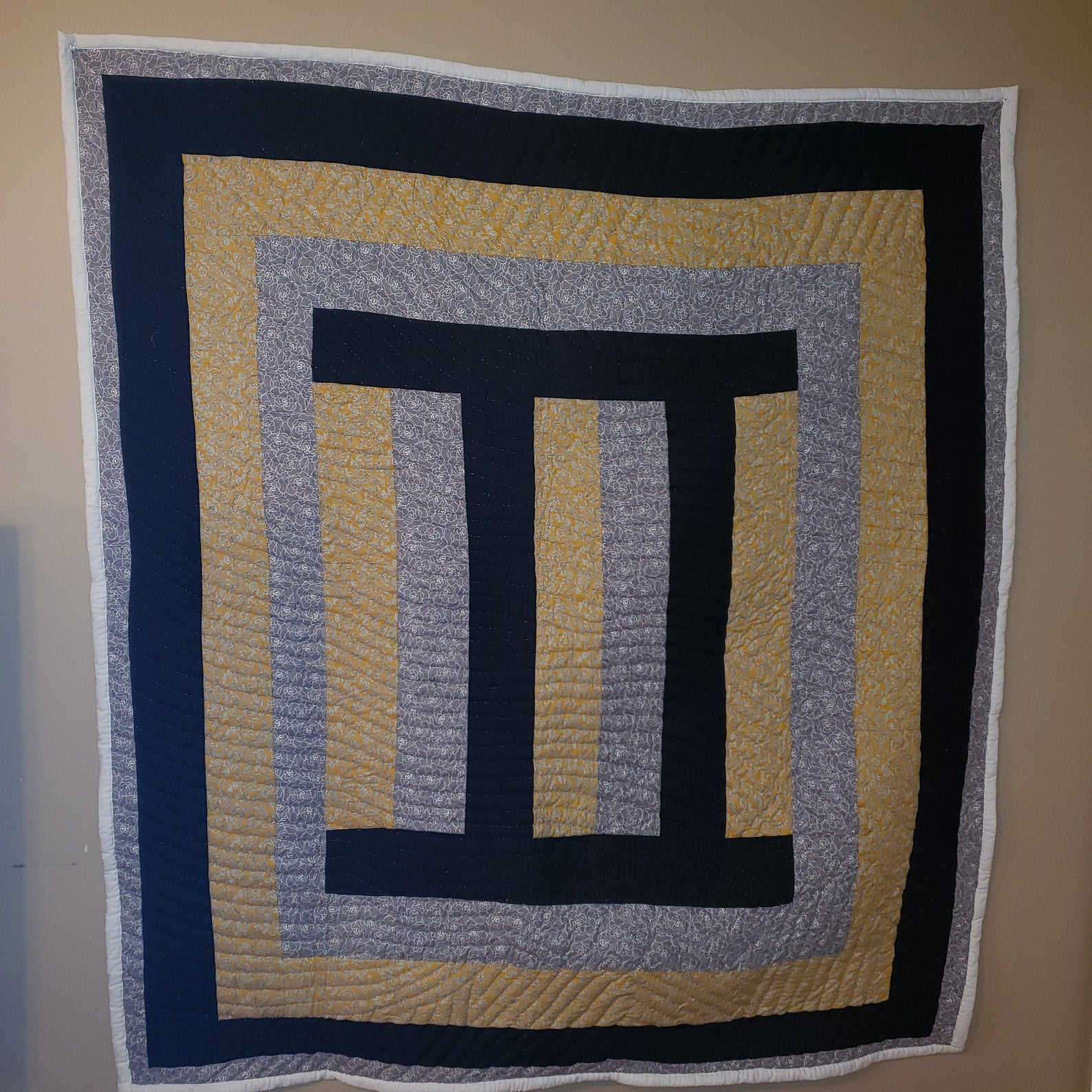 Artistic Gee's Bend Quilt