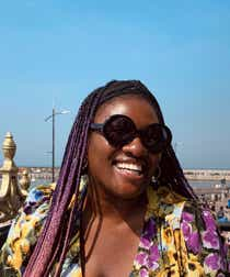 Yero Timi-Biu pictured on the seafront in Margate