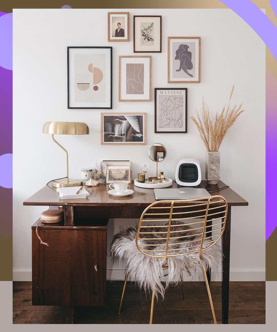 Instagram-Worthy Bedroom Office Ideas