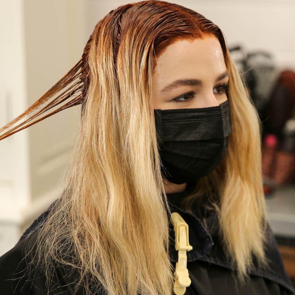 Gefärbte färben braun rot haare Schon gefärbtes