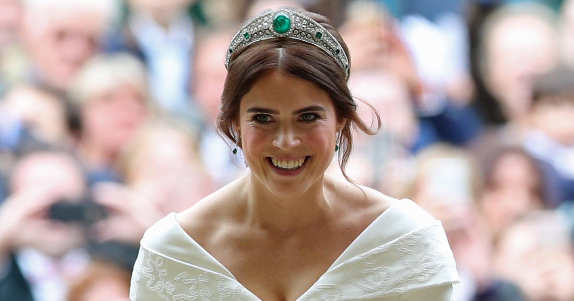 www.refinery29.com: Princess Eugenie's Padded Velvet Headband Is About To Sell Out
