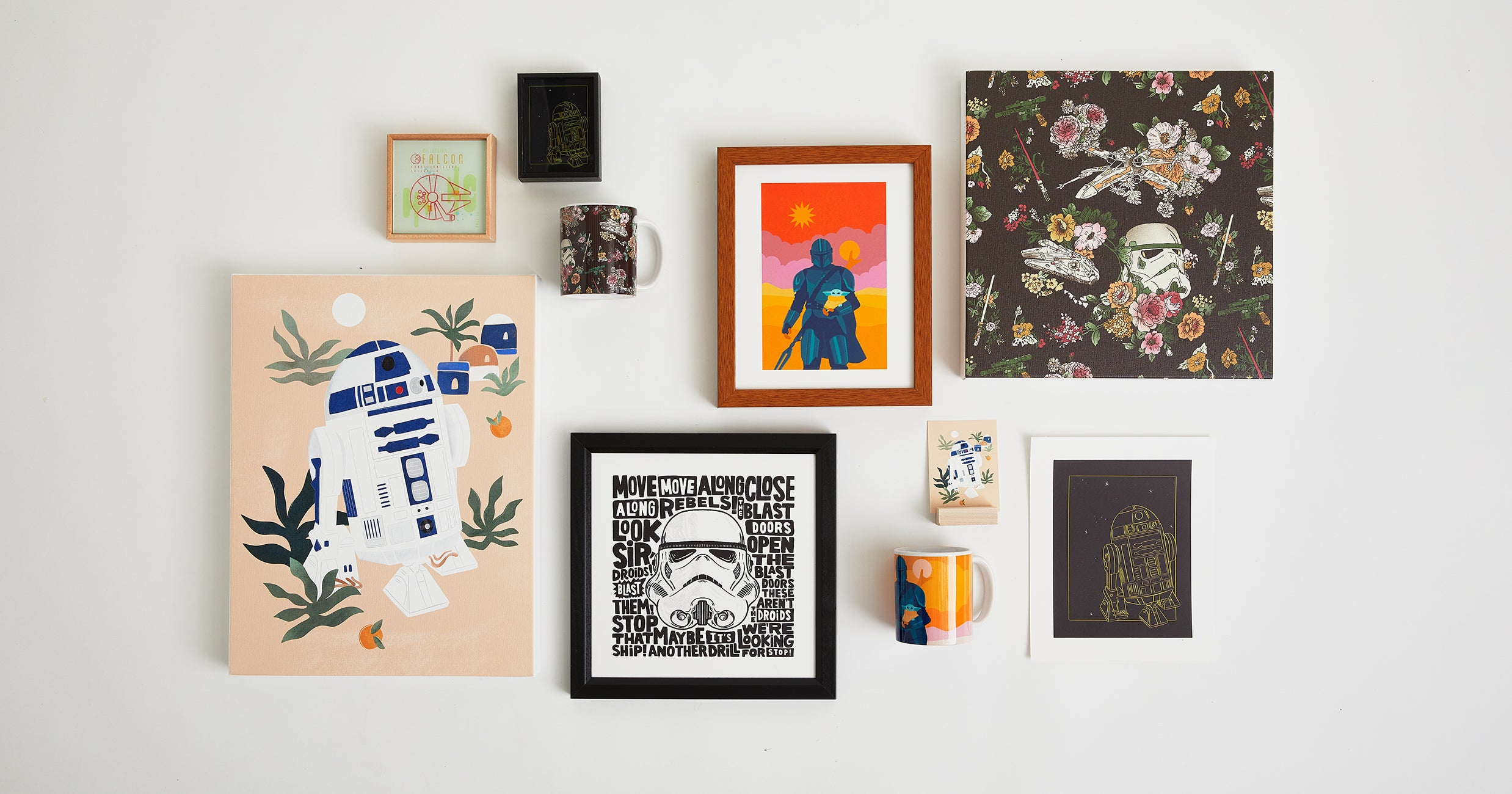 www.refinery29.com: The Star Wars Art Your Gallery Wall Has Been Waiting For