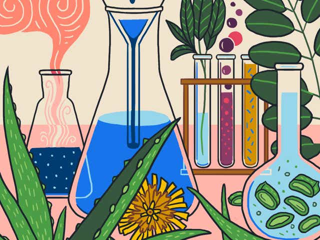 Biofermentation lab scene