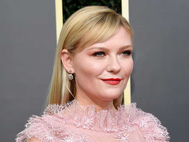 Kristen Dunst at the 77th Annual Golden Globe Awards.