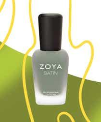 Zoya Satin Nain Polish in Sage.