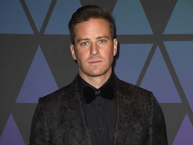 Armie Hammer attends the Academy of Motion Picture Arts and Sciences' 10th annual Governors Awards.