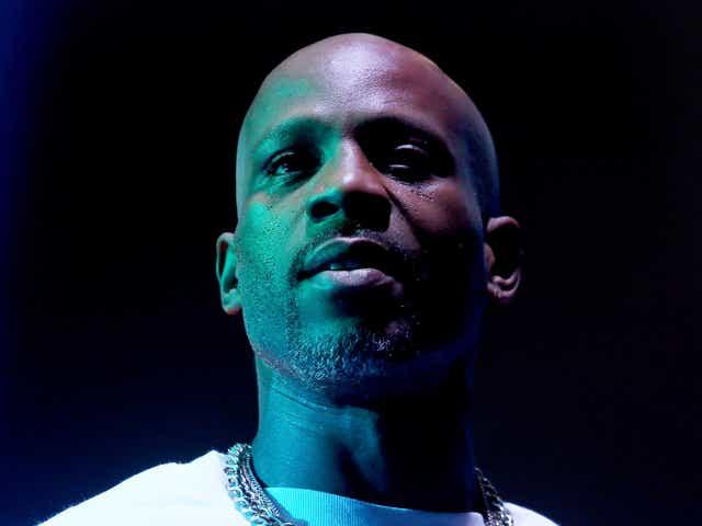 The late rapper DMX