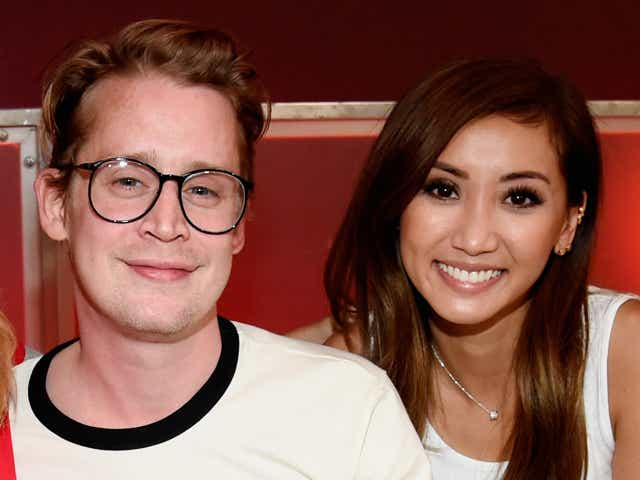 Macaulay Culkin and Brenda Song attend the sixth biennial Stand Up To Cancer telecast.
