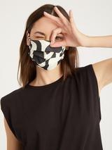 Modern Art Scrunchie Mask, 4 Pack