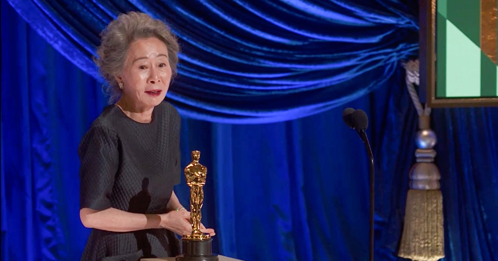 Youn Yuh-Jung & Brad Pitt Just Stole The Oscars