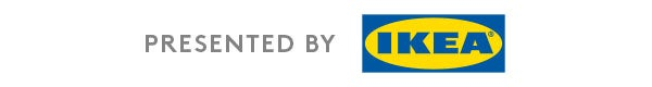 Presented by Ikea campaign logo