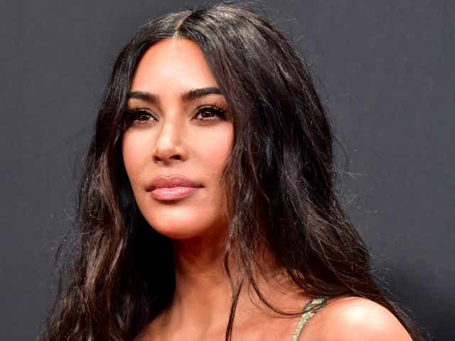 Kim Kardashian attends the 2019 E! People's Choice Awards.