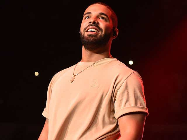 Drake performs onstage at Hot 107.9 Birthday Bash Block Show at Phillips Arena.