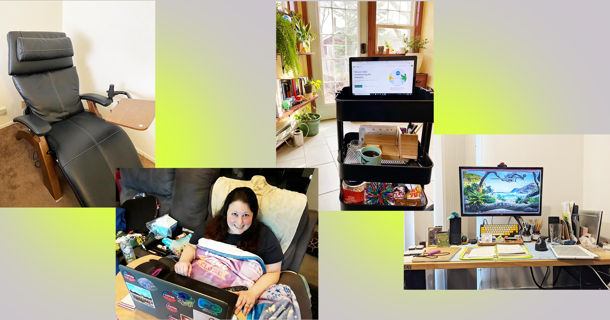 5 People Share Their Accessible WFH Setups — And They Get the Job Done